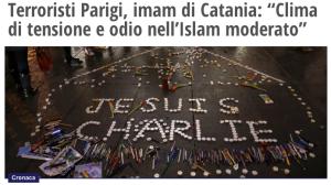 Imam Catania Charlie Hebdo