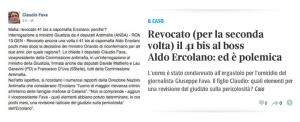Revoca 41bis Ercolano Aldo