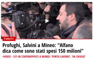 Salvini a Mineo