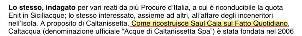 Screen La Sicilia:Il Fatto