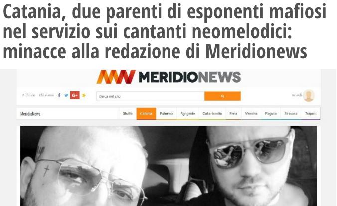 Catania, minacce alla redazione MeridioNews