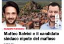 Matteo Salvini e il candidato sindaco nipote del mafioso