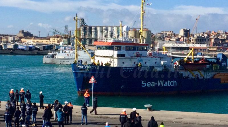 Sea Watch 3 bloccata al porto di Catania